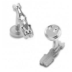 Speeder Bike Blueprint Cufflinks