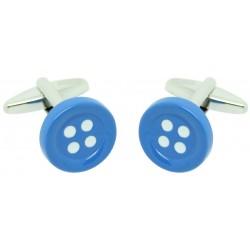 Gemelos Botón Azul