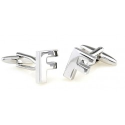 Letter F Cufflinks