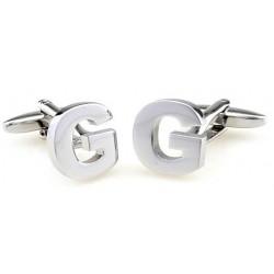Letter G Cufflinks