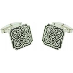 Sterling Silver Mosaic Cufflinks