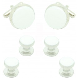 White Tuxedo Buttons and accessories for men