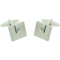 Silver Classic Square Cufflinks