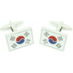 South Korea´s Flag Wholesale Cufflinks