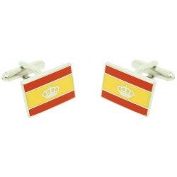 Spanish Navigation Flag Cufflinks