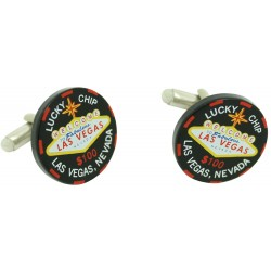 Wholesale Casino Chip Cufflinks
