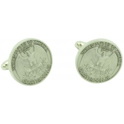 Wholesale Quarter Dollar Coin Cufflinks