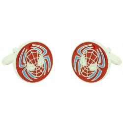 Wholesale Spiderman Mask Cufflinks