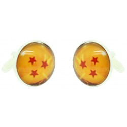 Wholesale 3 Stars Dragon Ball Cufflinks