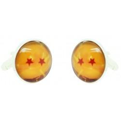 Wholesale 2 Stars Dragon Ball Cufflinks