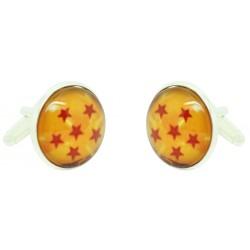 Wholesale 6 Stars Dragon Ball Cufflinks