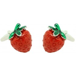 Wholesale Strawberry Cufflinks