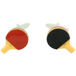 Table Tennis Racket Cufflinks