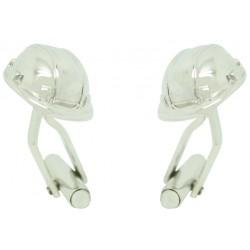 Construction Helmet Cufflinks