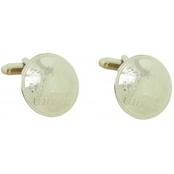 Spanish Peseta Coin Cufflinks