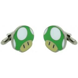 1-UP Mushroom Cufflinks