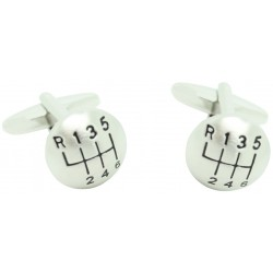 Gear Shift With Six Gears Cufflinks