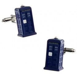 Tardis Doctor Who Cufflinks