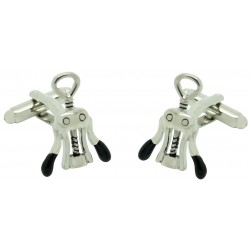 Winged Corkscrew Cufflinks