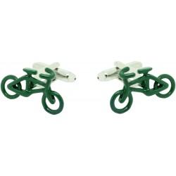 Gemelos al por mayor Bicicleta Carreras Verde
