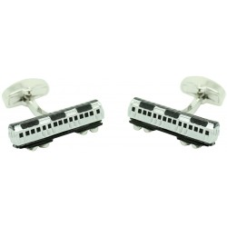 Vintage Train Wagon Cufflinks