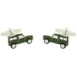 Gemelos para camisa Land Rover Defender Verde Militar al por mayor