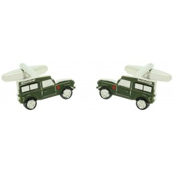 Wholesale Military Green Land Rover Defender Cufflinks