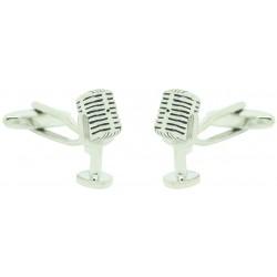 Radio Microphone Cufflinks