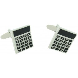 Pocket Calculator Cufflinks