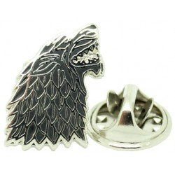 Game of Thrones Stark House Wolf Pin