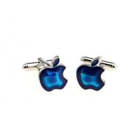 Blue Apple Cufflinks