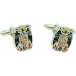 Wholesale Saint John's Eagle Emblem Cufflinks for men