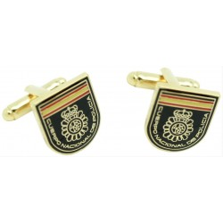 Wholesale National Police Uniform Emblem Cufflinks for men