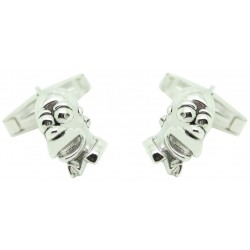 Wholesale Sterling Silver Homer Cufflinks