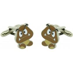 Goomba Mario Bros. Cufflinks
