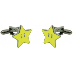 Gemelos estrella Mario bros amarilla