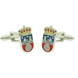 Cantabria Flag Cufflinks
