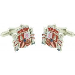 spanish state shield Cufflinks