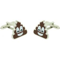 Poo Emoji Cufflinks