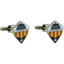 Cufflinks Castellón club of soccer