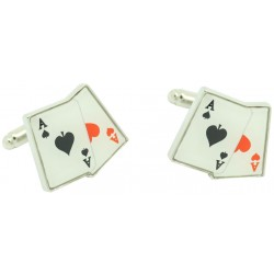 Pair of Aces Cufflinks