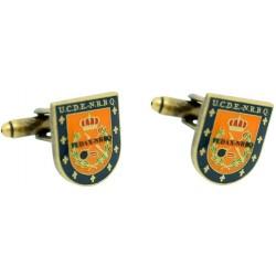 Gemelos Escudo de los TEDAX Policía Nacional