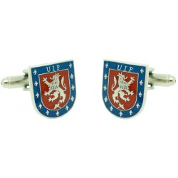 Cufflinks Coat of Arms Police Intervention Spain