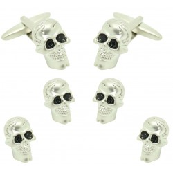 Smoking set Skull Buttons