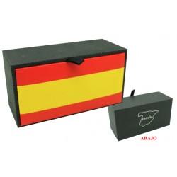caja de gemelos individual personalizada Bandera España