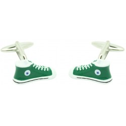 green bottle Converse Cufflinks