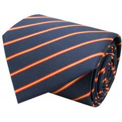 corbata bandera de España lineas finas