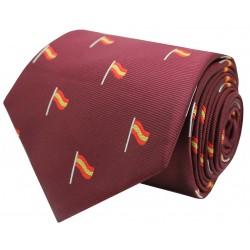 corbata españa bandera mástil roja