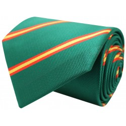 tie flag spain diagonal green