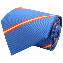 corbata bandera españa diagonal azulon